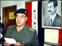 Iraqi Information Minister, Muhammed Saeed al-Sahhaf