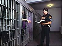 Generic US prison interior