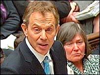 Tony Blair and Clare Short