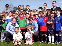 Liberal Democrats and young footballers