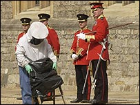 Beekeeper at Windsor Castle