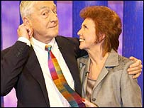 Michael Parkinson and Cilla Black