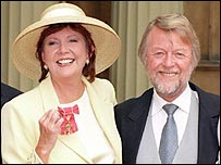 Cilla Black and Bobby Willis