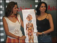Pooja Bedi and model Shefali Talwar