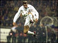 Madrid playmaker Zinedine Zidane