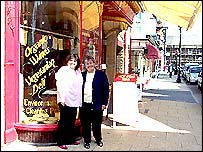 Pat Welsh and Sheila Richards on Middleton Street