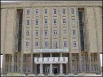 Kurdistan National Assembly building in Irbil (photo: kind permission of Arif Zerevan)