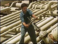 Oil facility in Iraq