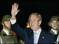 President Bush in Krakow