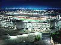 An overview of Arsenal's proposed Ashburton Grove stadium