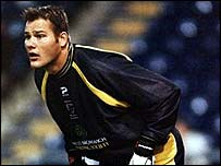 West Brom goalkeeper Brian Jensen