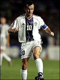 Dejan Savicevic, coach of Serbia & Montenegro