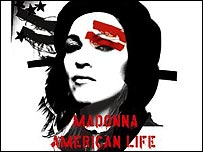 Madonna's American Life cover