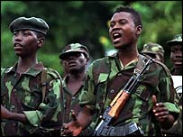 Congo rebels (library picture)
