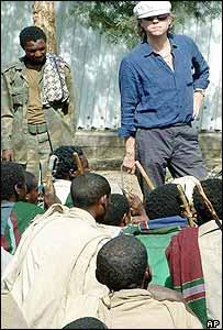 Geldof in Ethiopia