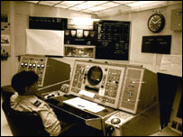 Control room at Fylingdales