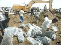 Iraqi mass grave