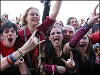 Download festival-goers