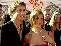 Brad Pitt and Jennifer Anniston