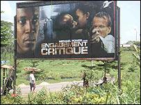Critical Assignment billboard