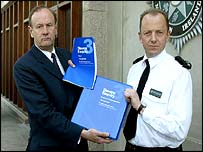 Sir John Stevens and NI Chief Constable Hugh Orde