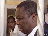 Morgan Tsvangirai at the High Court