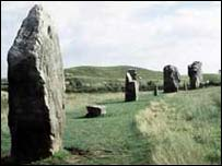 Avebury stones