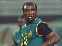 Cameroonian striker Patrick Suffo