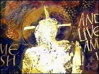 Illuminated Jesus