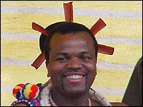 King Mswati III