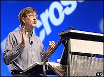 Microsoft boss Bill Gates