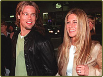 Brad Pitt and Jennifer Aniston are said to follow the Atkins diet