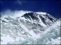 Everest's summit 