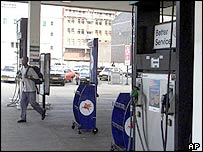 Petrol station in Harare