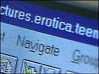 Online pornography site