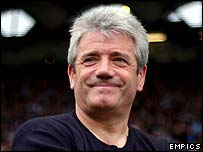 Manchester City manager Kevin Keegan