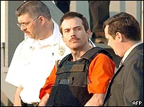 Eric Rudolph during his 2003 arrest