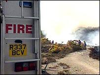 Cornwall fire