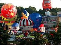 The balloon fiesta
