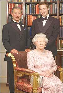 Prince Charles , the Queen and Prince William