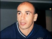 Striker Hossam Hassan