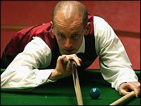Defending champion Peter Ebdon