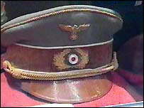 Military cap worn by Hitler
