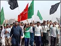 Shia pilgrims
