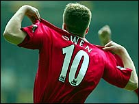 Liverpool's Michael Owen