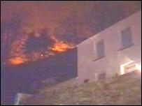 Fire at Baglan, Port Talbot