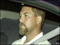 Scott Peterson shortly after his arrest