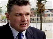 Finance Minister Ian Pearson