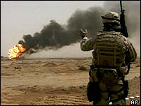 US soldier in Iraq