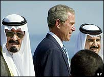 President Bush at the Red Sea summit